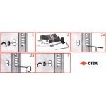 Инструкция по перекодировке замков CISA