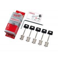 Комплект ключей CISA 06520 для перекодировки